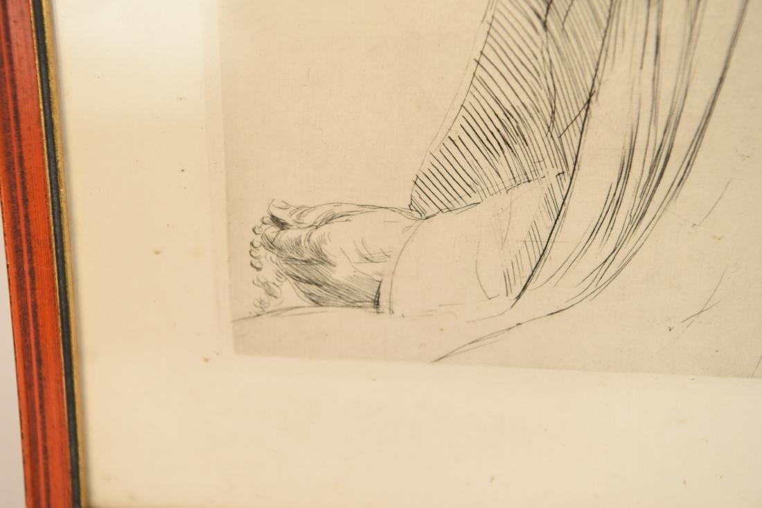 ALPHONSE LEGROS (1837 – 1911) ETCHING - 4