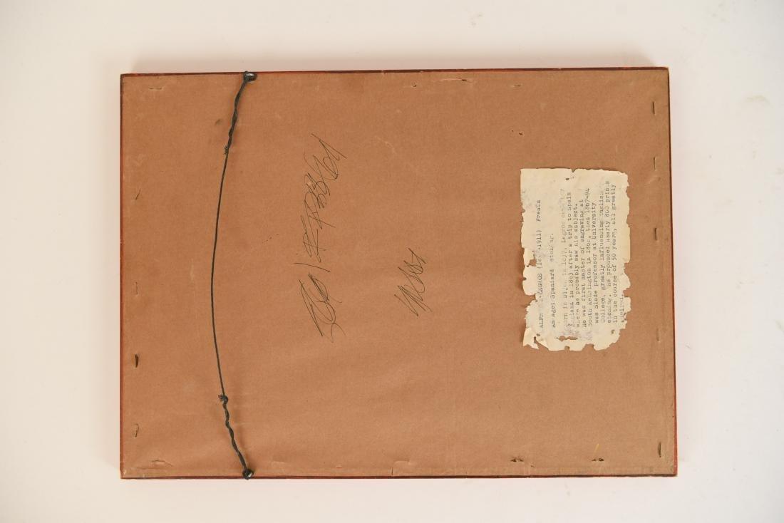 ALPHONSE LEGROS (1837 – 1911) ETCHING - 7