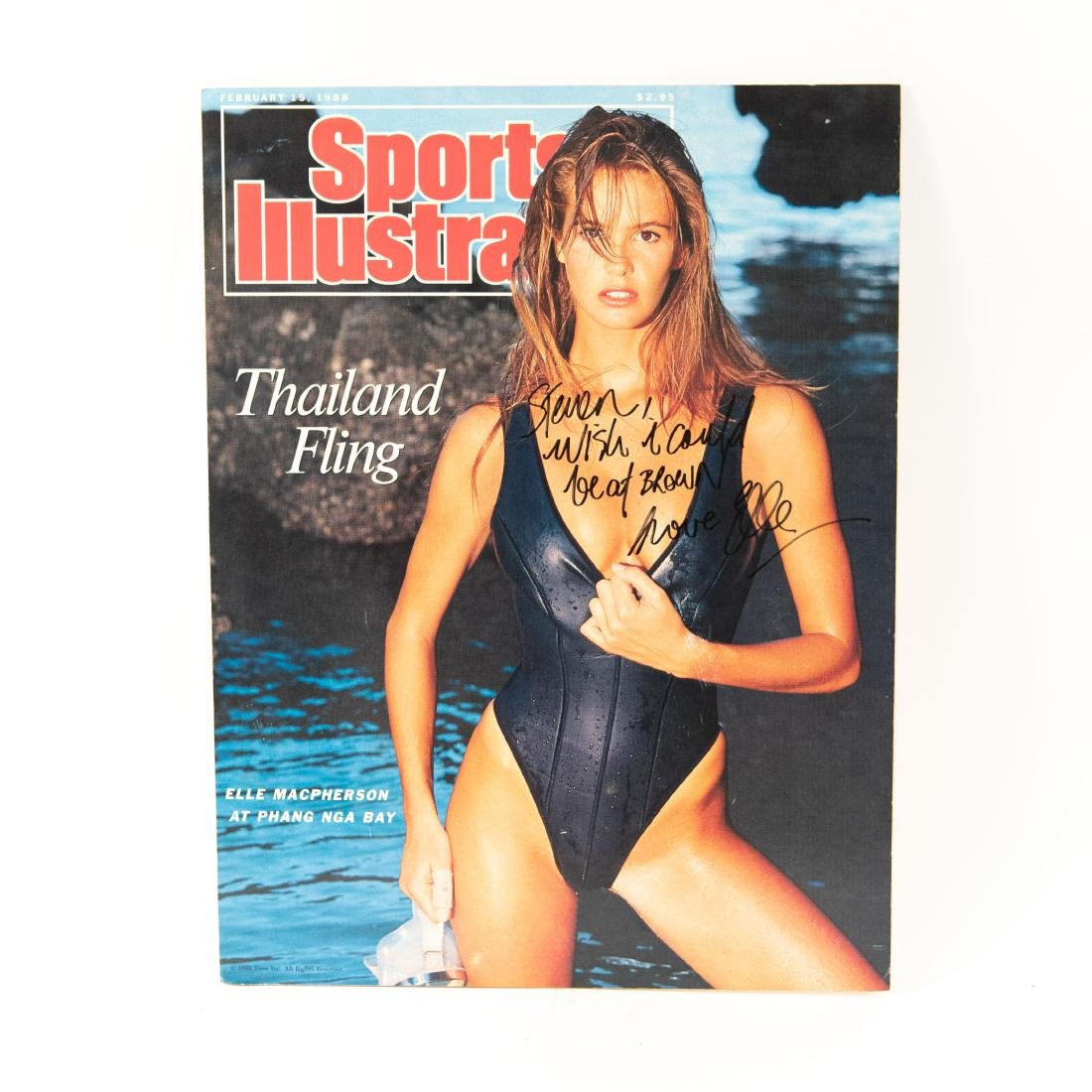 ELLE MACPHERSON SIGNED POSTER