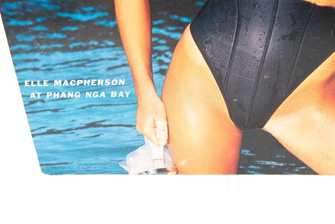 ELLE MACPHERSON SIGNED POSTER - 4