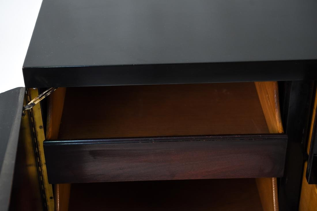 MID-CENTURY PAINT DECORATED BAR SIDEBOARD - 9