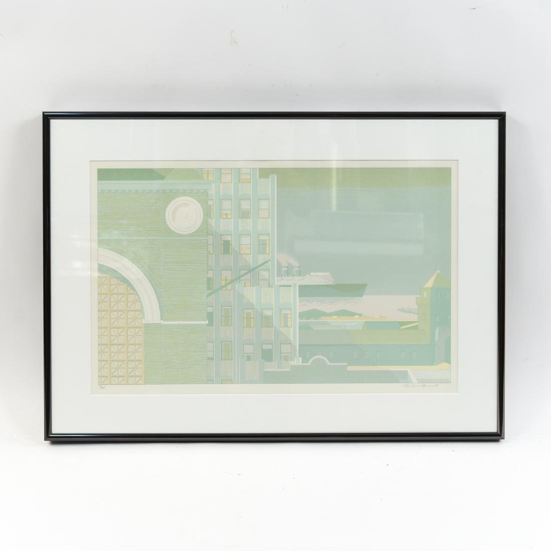 ARCHITECTURAL LITHOGRAPH II