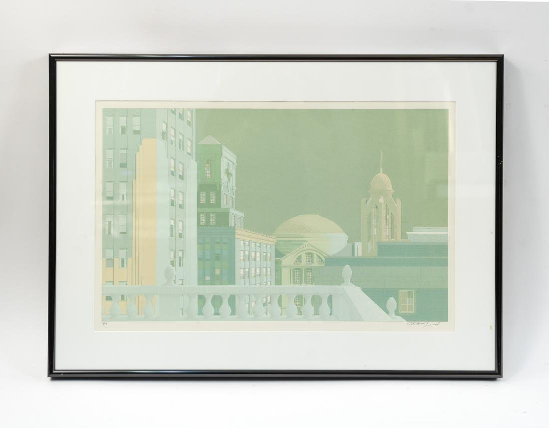 ARCHITECTURAL LITHOGRAPH III