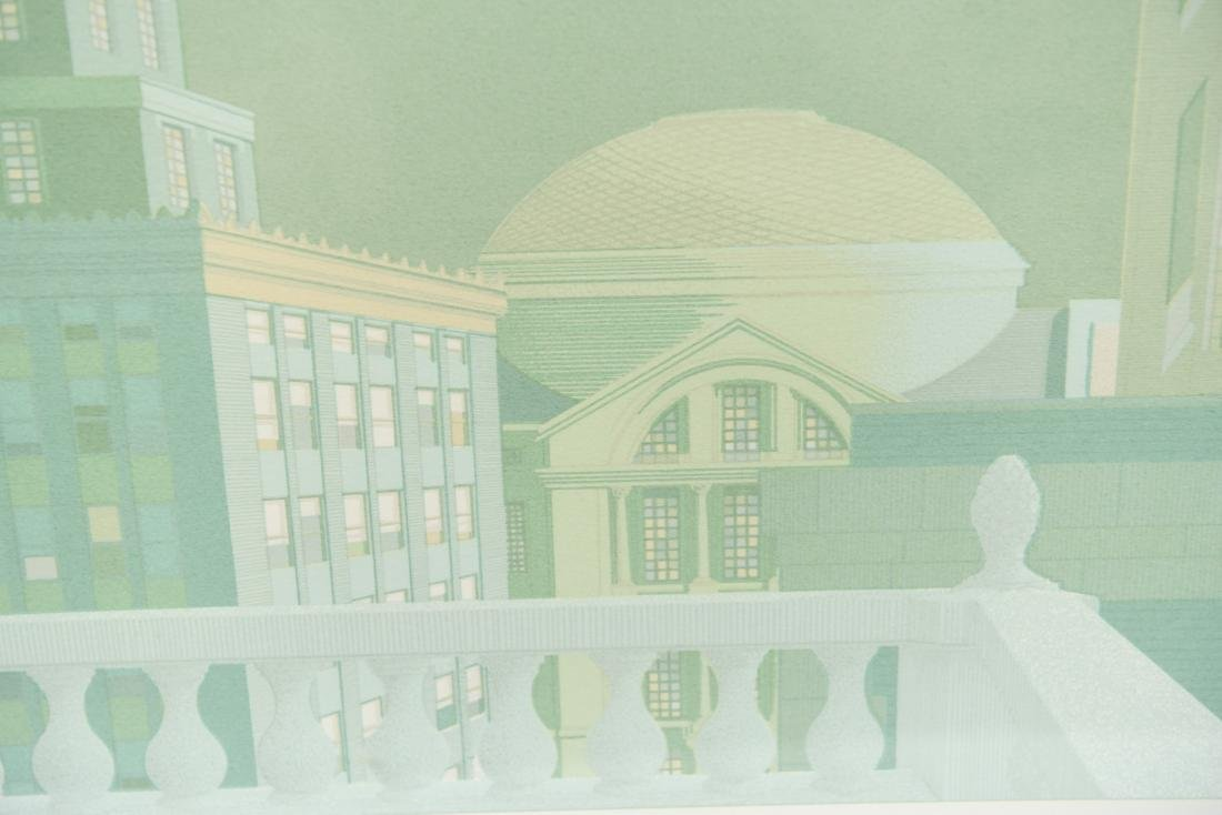 ARCHITECTURAL LITHOGRAPH III - 4