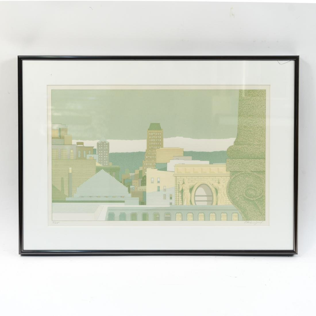 ARCHITECTURAL LITHOGRAPH IV