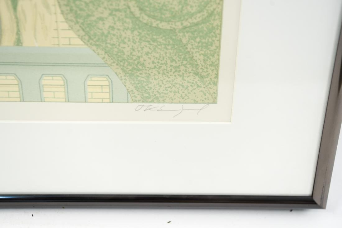 ARCHITECTURAL LITHOGRAPH IV - 2