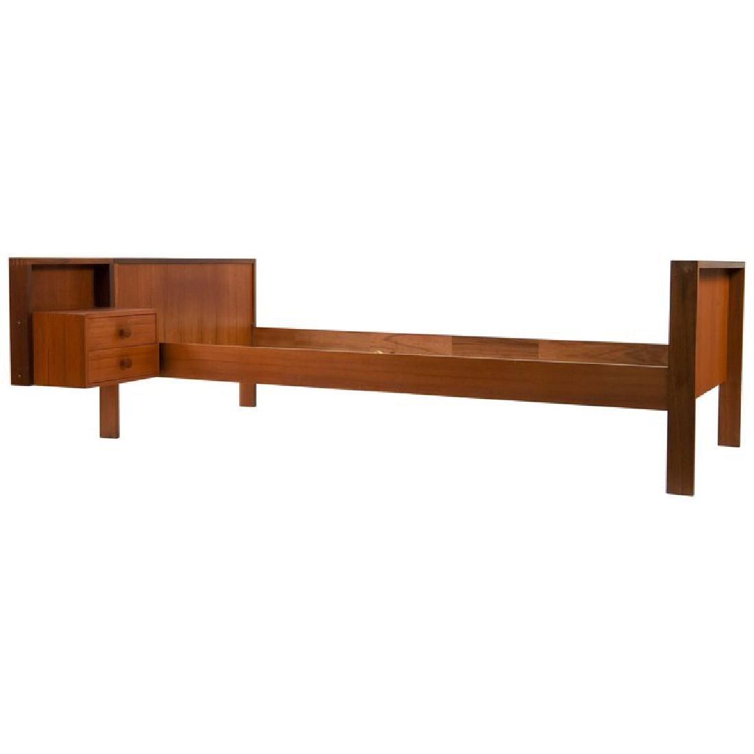 DANISH MID-CENTURY TEAK BED