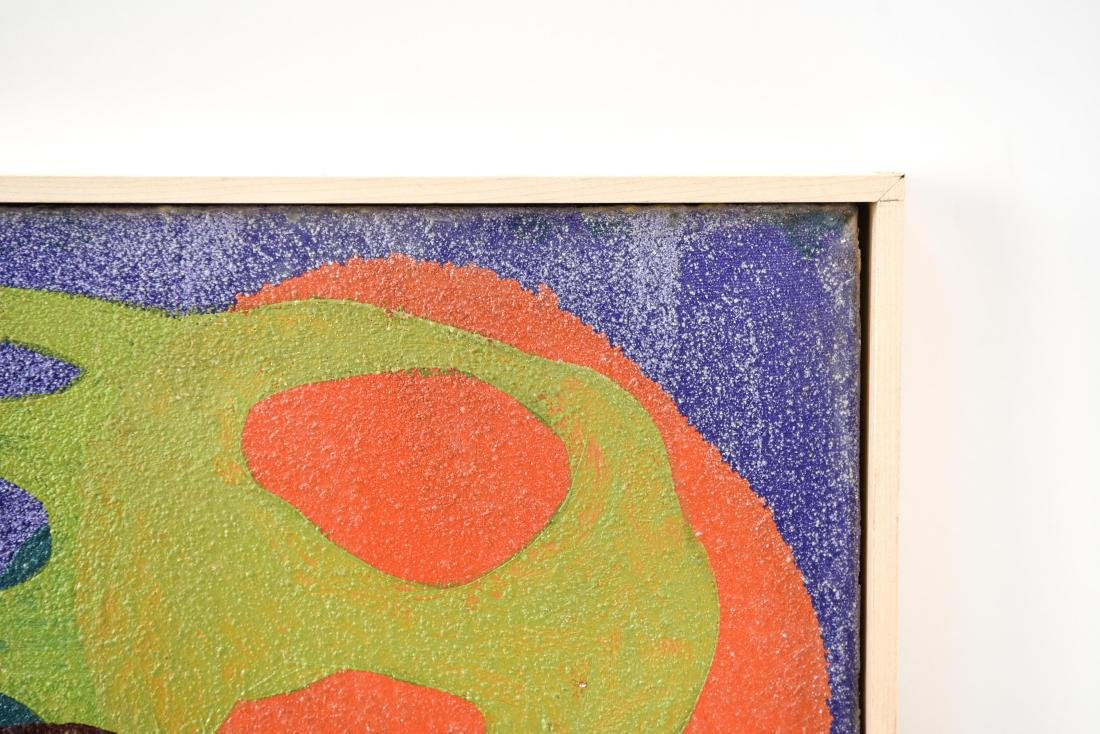 BIOMORPHIC ABSTRACT OIL ON CANVAS - 6