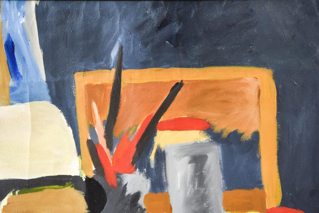 ARTIST STUDIO ABSTRACT STILL LIFE - 5