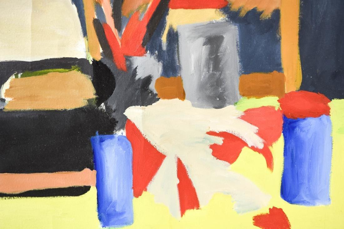 ARTIST STUDIO ABSTRACT STILL LIFE - 6