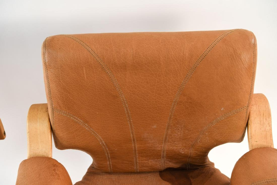 DANISH MID-CENTURY BENTWOOD LOUNGE CHAIRS - 5