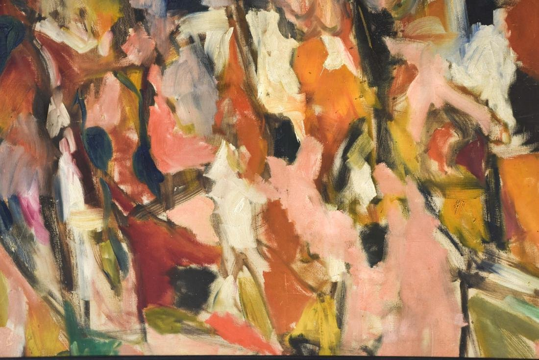 ABSTRACT OIL ON CANVAS C. 1950S - 5