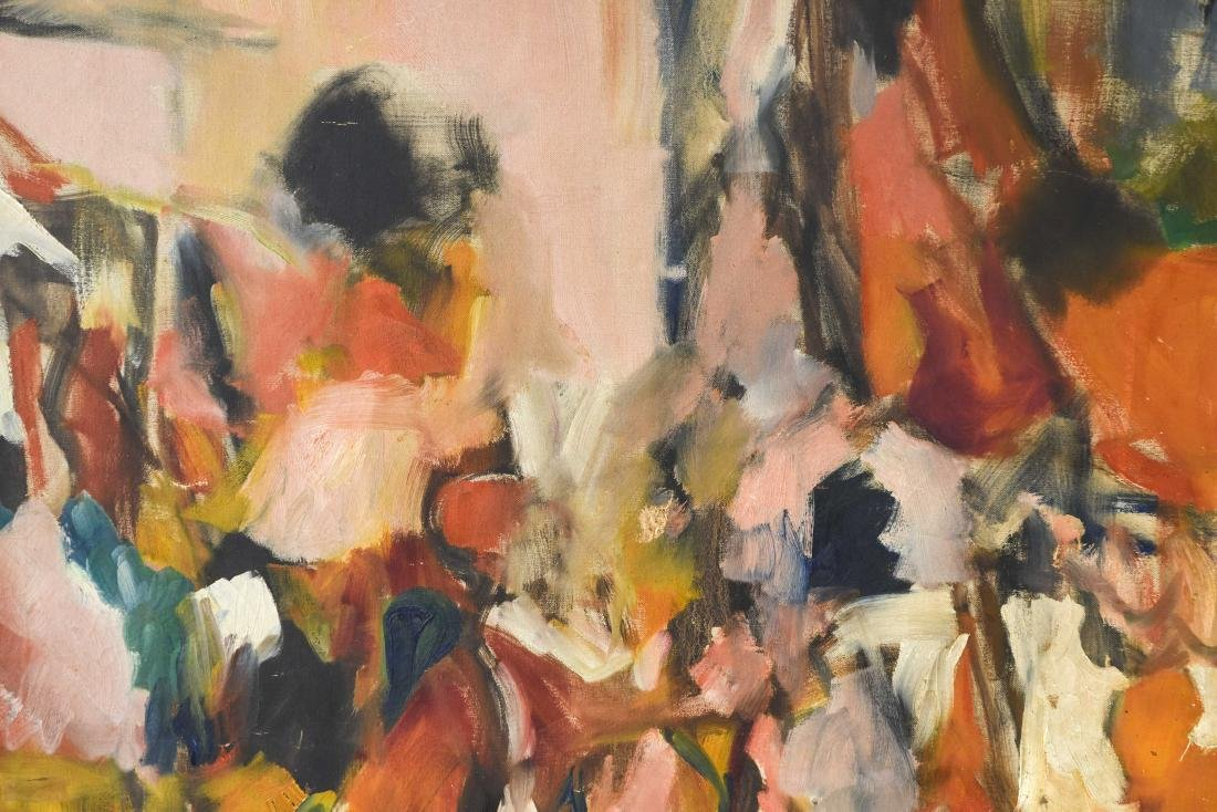 ABSTRACT OIL ON CANVAS C. 1950S - 6