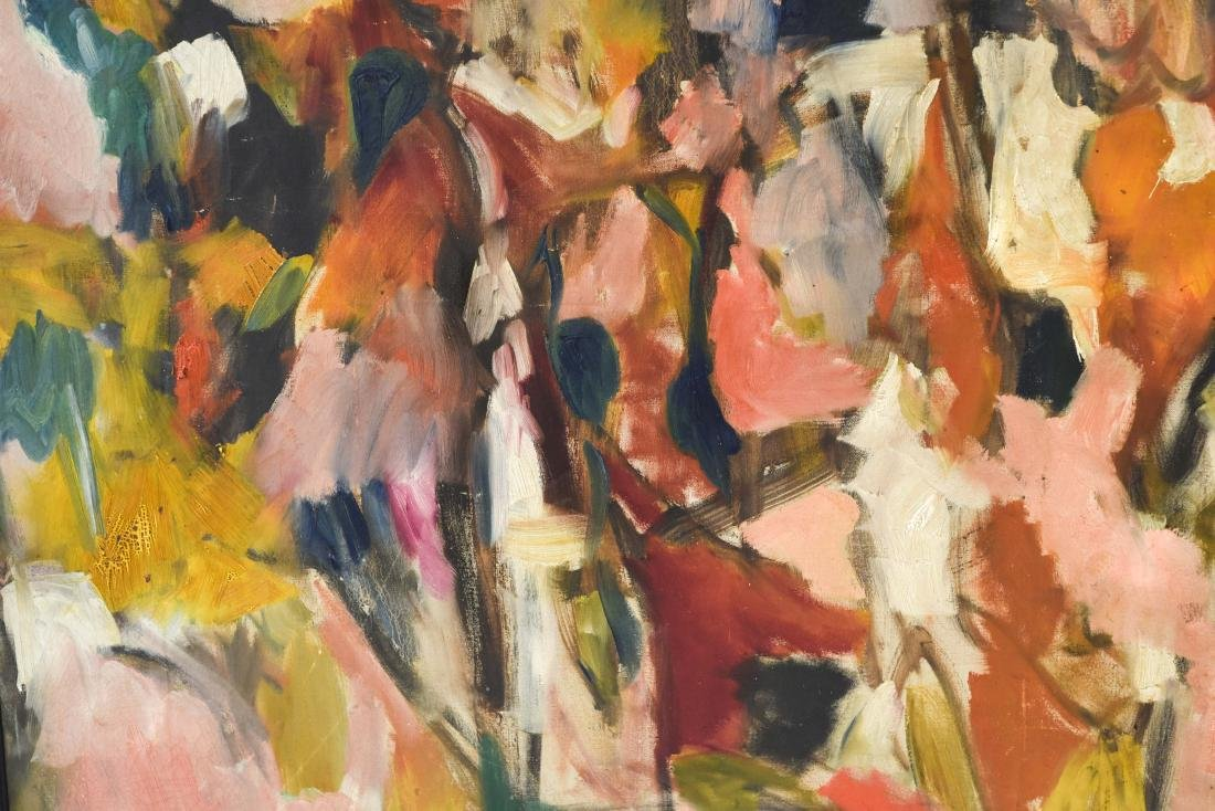 ABSTRACT OIL ON CANVAS C. 1950S - 7
