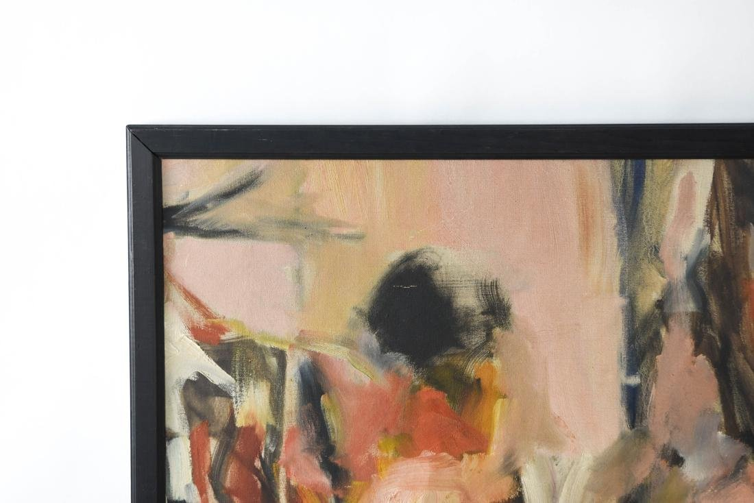 ABSTRACT OIL ON CANVAS C. 1950S - 8