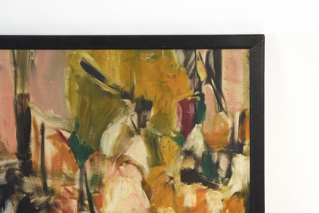 ABSTRACT OIL ON CANVAS C. 1950S - 9