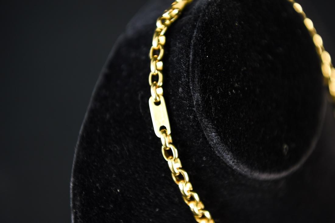 POMELLATO 18K GOLD HEAVY CHAIN NECKLACE - 7