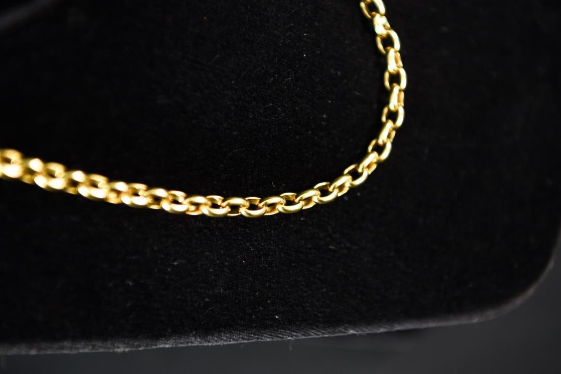 POMELLATO 18K GOLD HEAVY CHAIN NECKLACE - 8