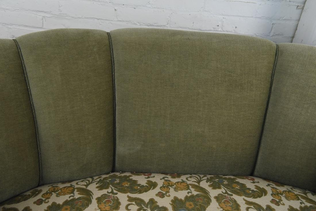 DANISH 1940S ART DECO BANANA FORM SOFA - 5