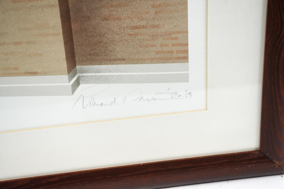 RICHARD DAVIS ARCHITECTURAL LITHOGRAPH II - 4