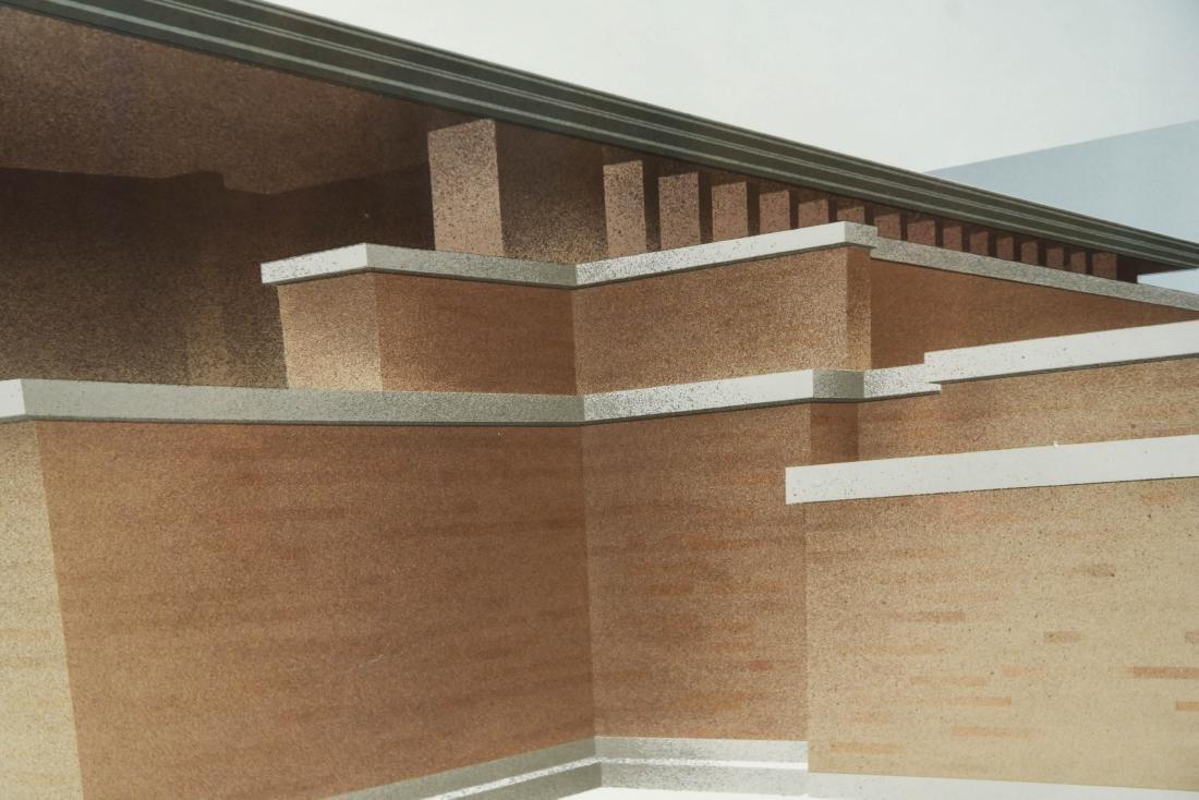 RICHARD DAVIS ARCHITECTURAL LITHOGRAPH II - 5