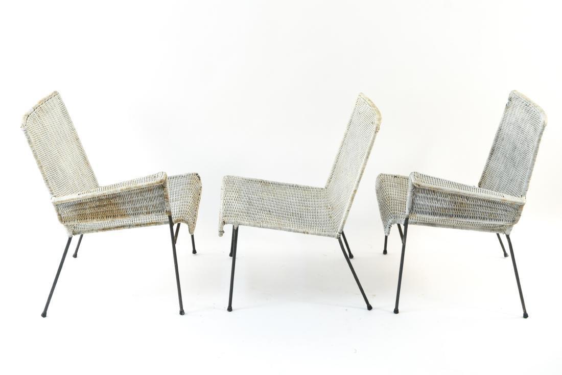 WICKER & IRON SECTIONAL SEAT BY VAN KEPPEL-GREEN - 10