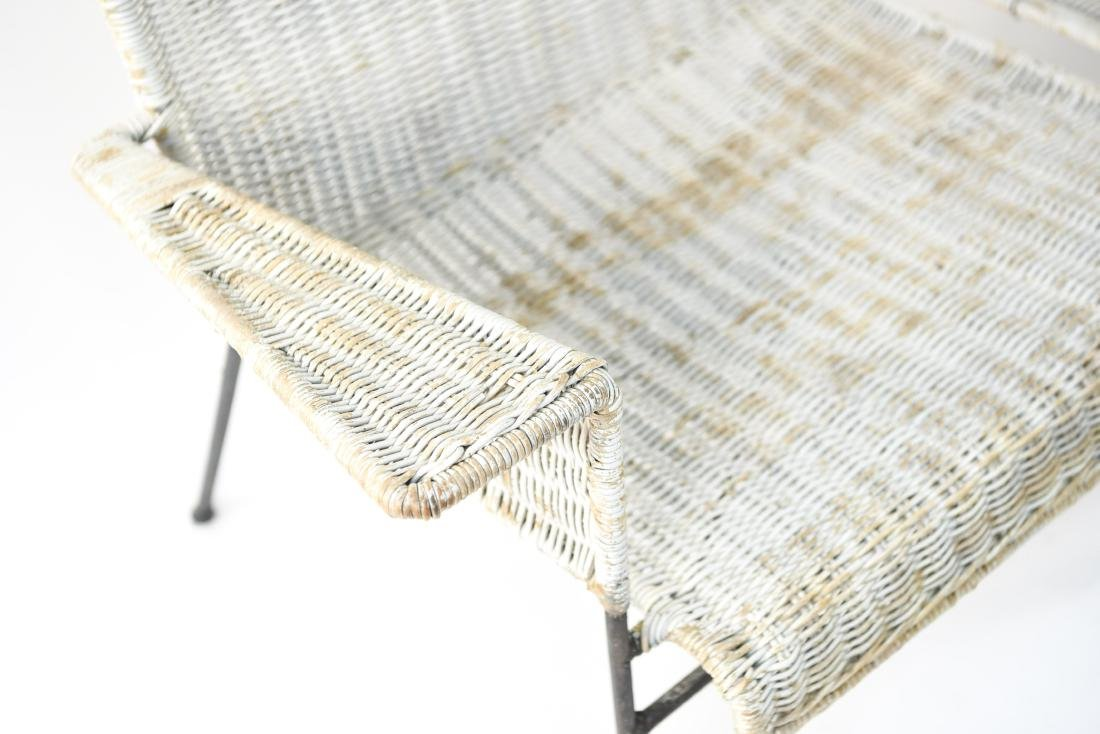 WICKER & IRON SECTIONAL SEAT BY VAN KEPPEL-GREEN - 3