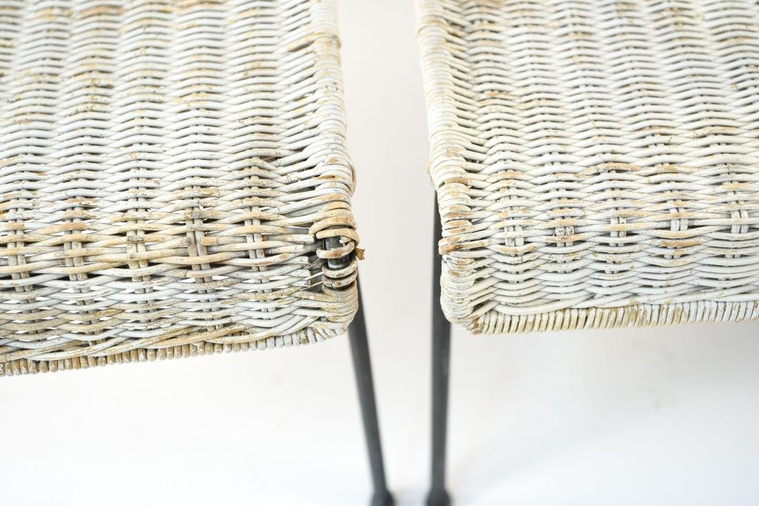 WICKER & IRON SECTIONAL SEAT BY VAN KEPPEL-GREEN - 5