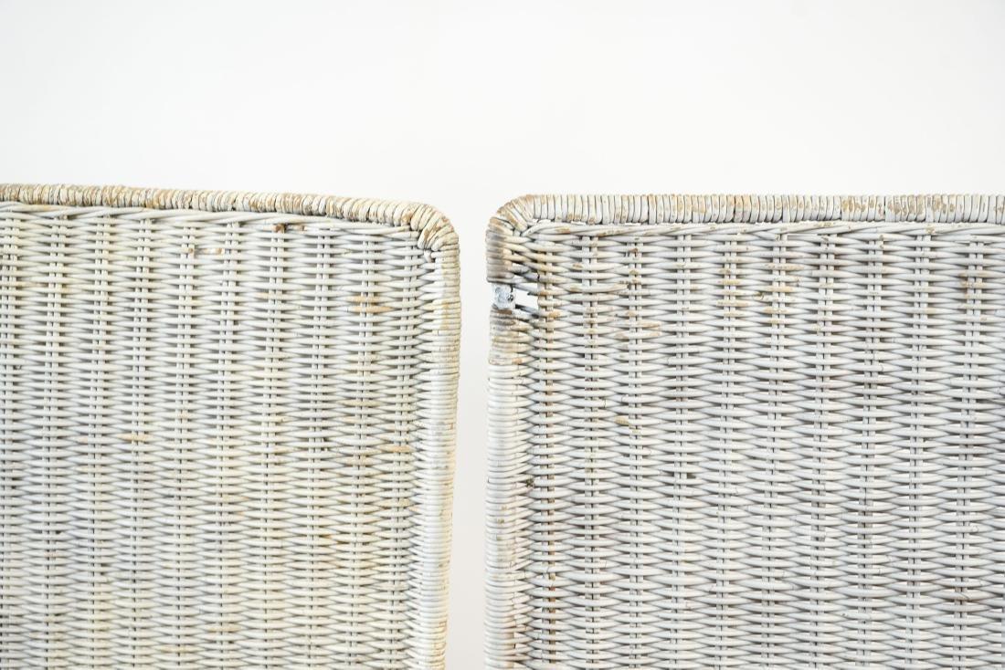 WICKER & IRON SECTIONAL SEAT BY VAN KEPPEL-GREEN - 8