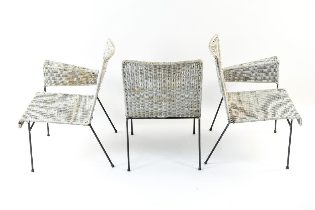 WICKER & IRON SECTIONAL SEAT BY VAN KEPPEL-GREEN - 9