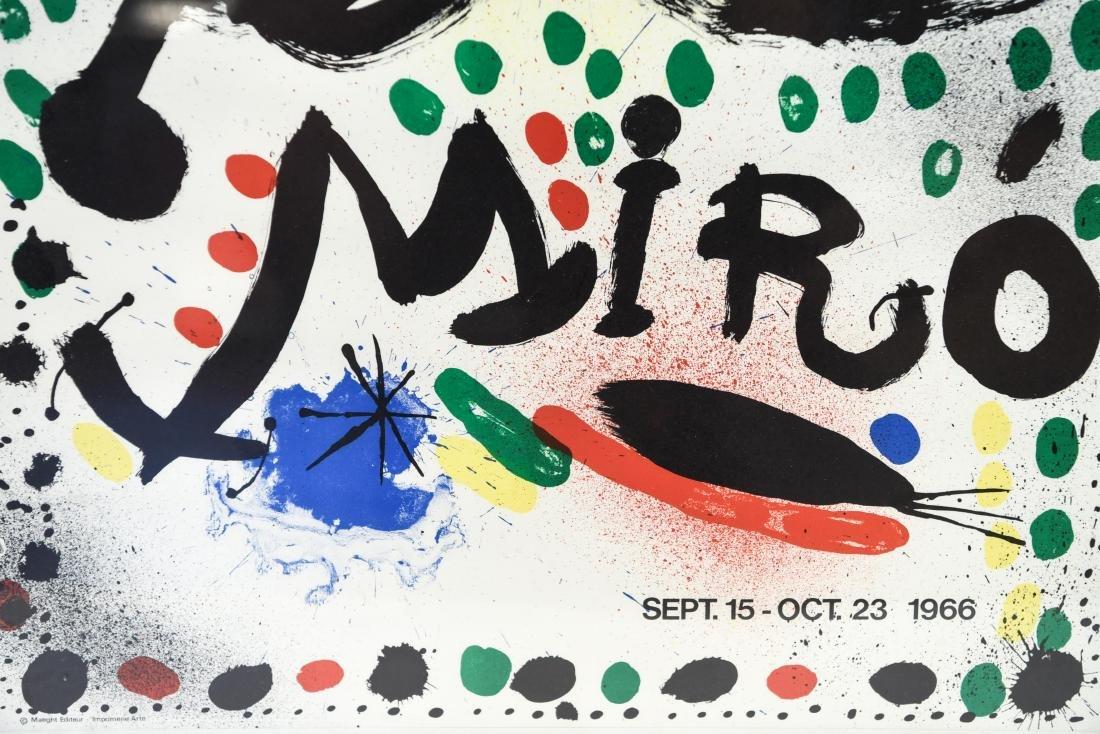 JOAN MIRO VINTAGE POSTER GRAPHICS 1966 - 3
