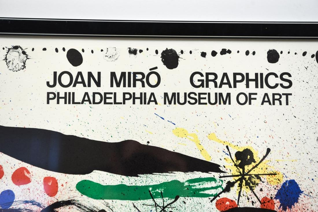 JOAN MIRO VINTAGE POSTER GRAPHICS 1966 - 5