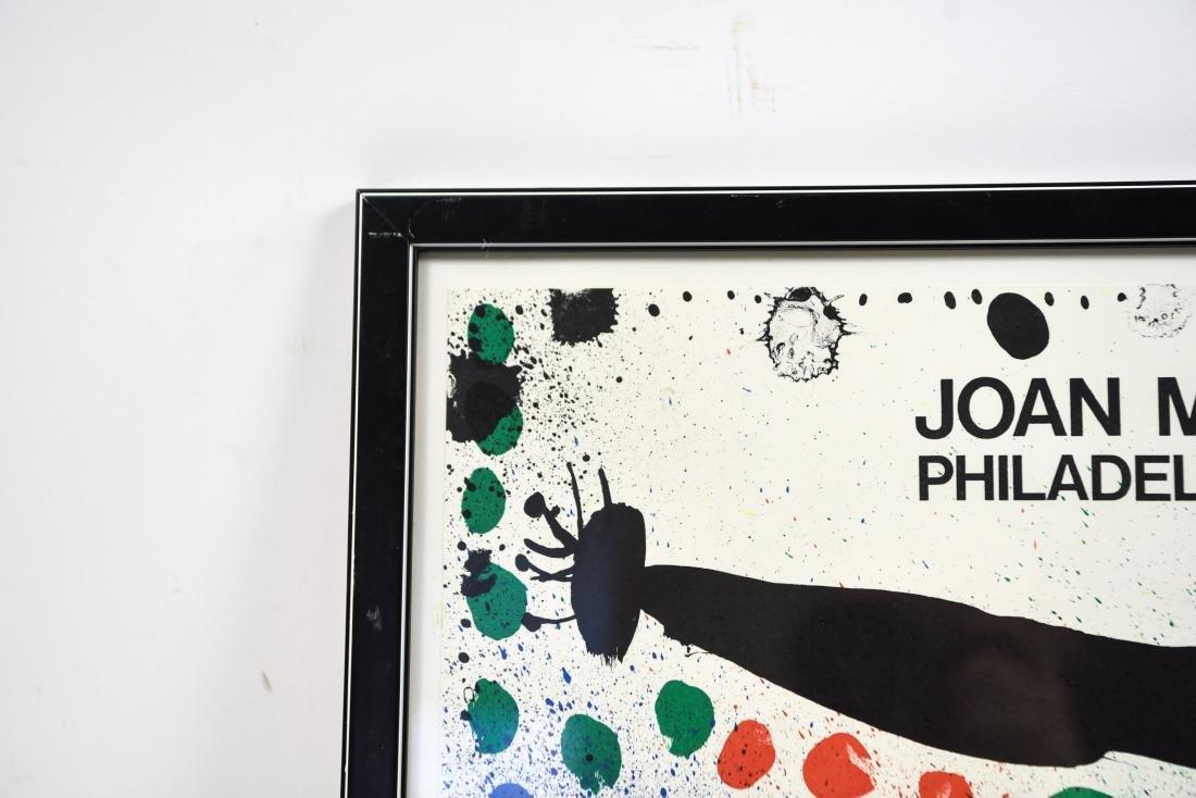 JOAN MIRO VINTAGE POSTER GRAPHICS 1966 - 7