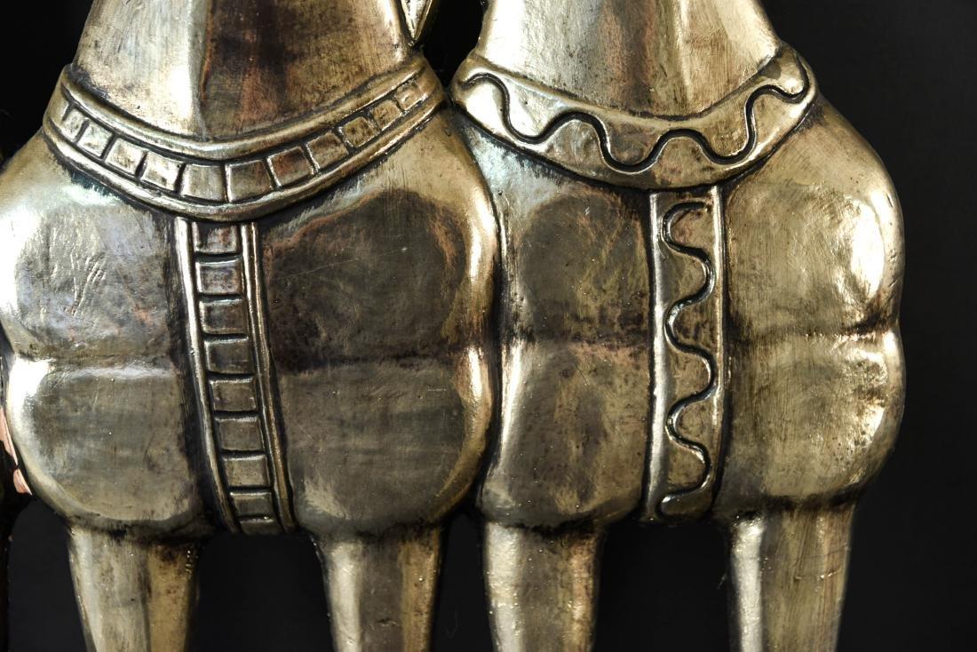 MID-CENTURY HORSE PLASTER RELIEF SCULPTURE - 7