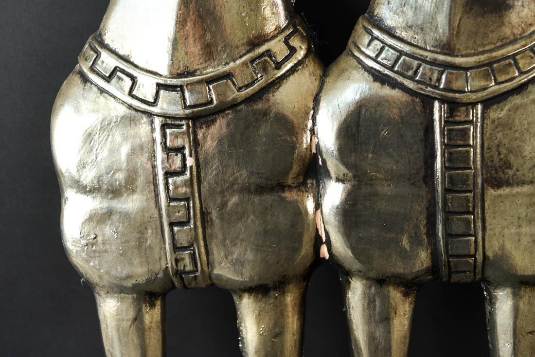 MID-CENTURY HORSE PLASTER RELIEF SCULPTURE - 8