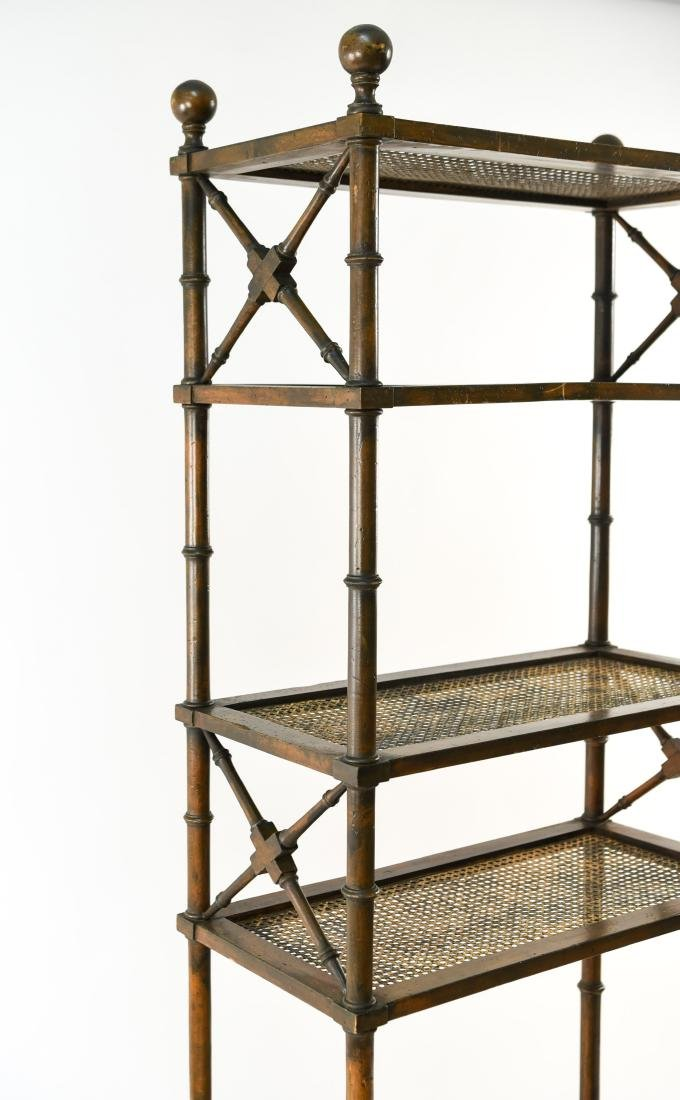 FAUX BAMBOO ETAGERE - 2