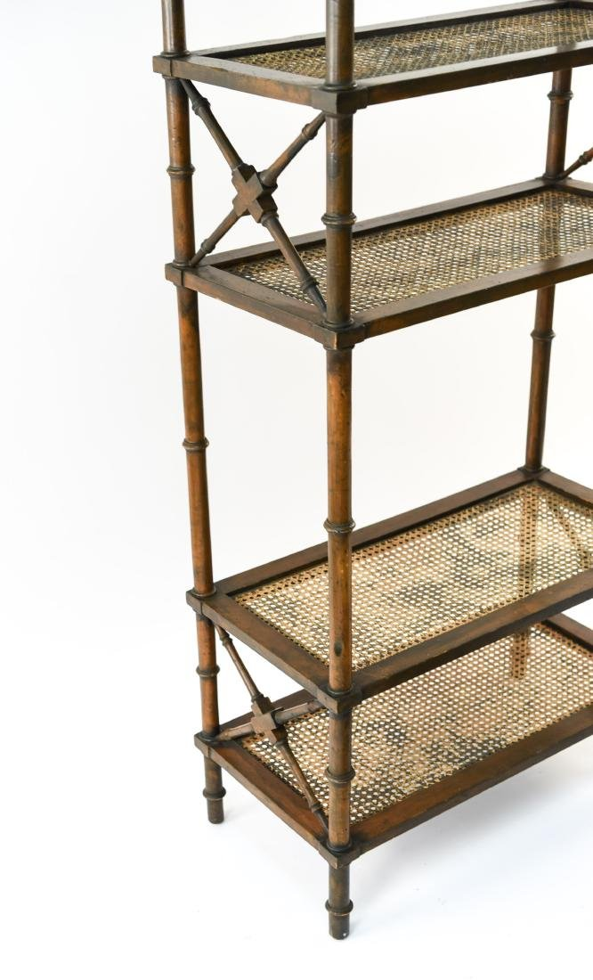 FAUX BAMBOO ETAGERE - 3