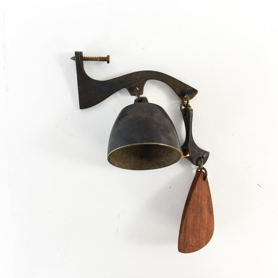 RICHARD FISHER BRONZE BELL