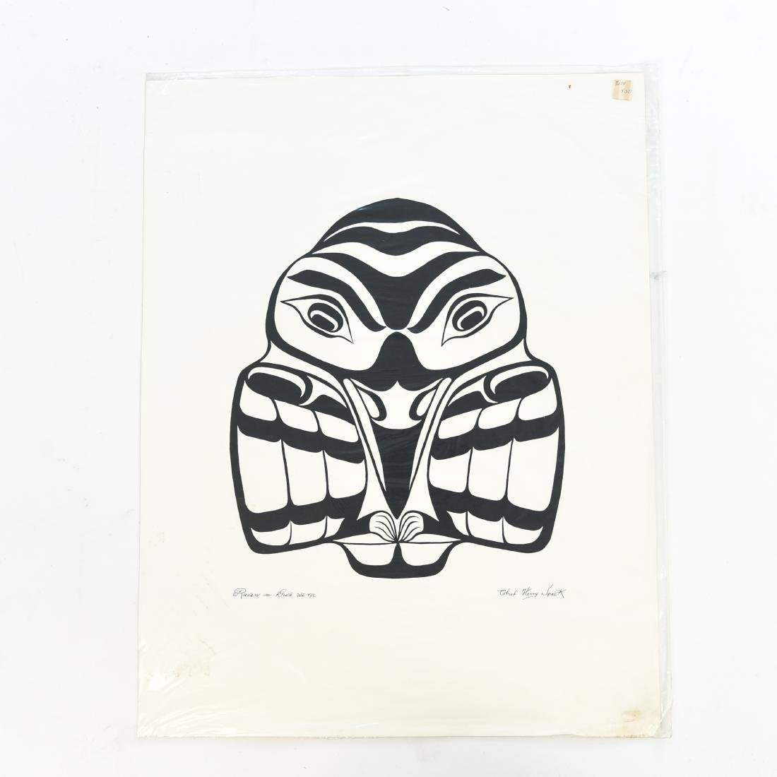 INUIT & NORTHWEST COAST INDIAN ART GROUPING - 2