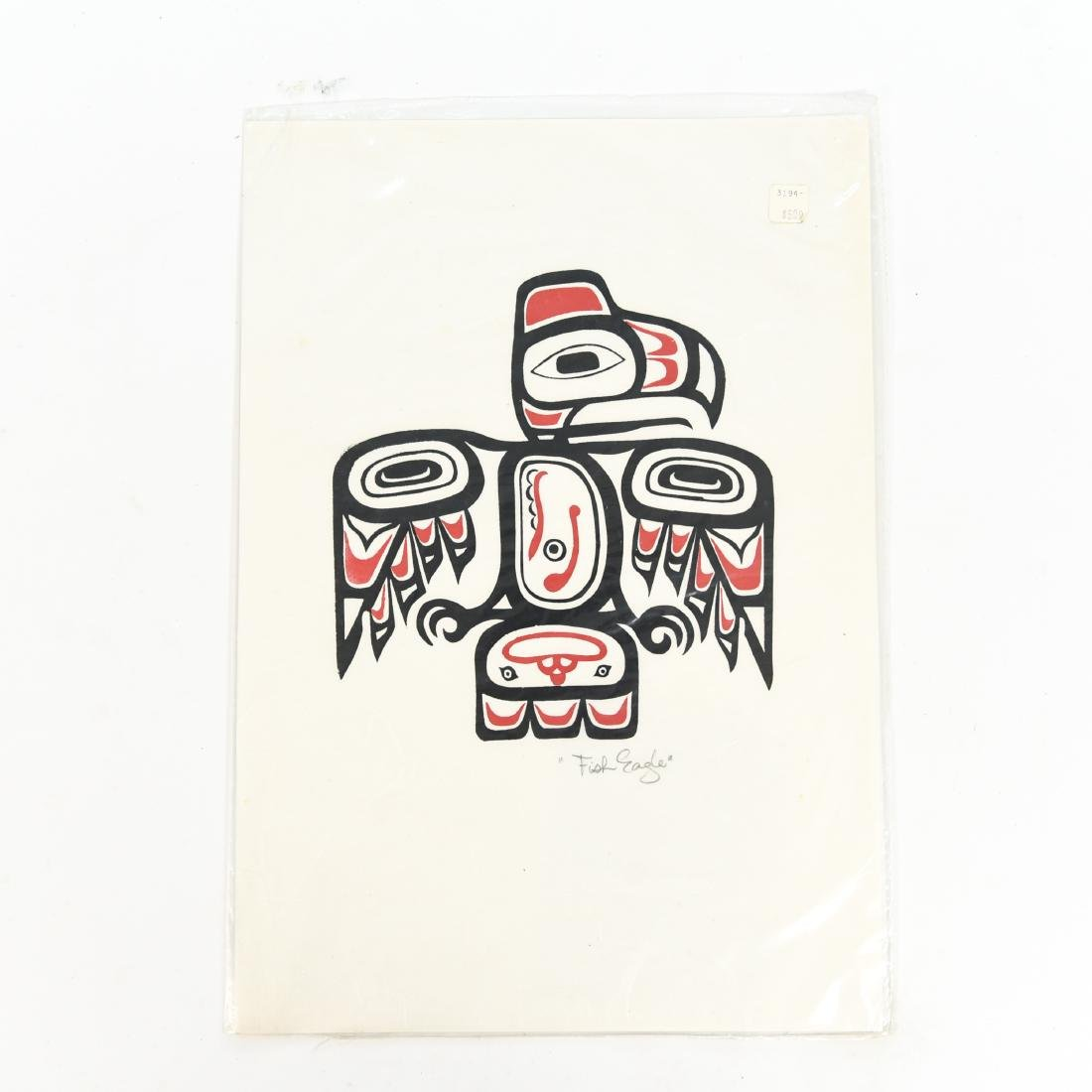 INUIT & NORTHWEST COAST INDIAN ART GROUPING - 8