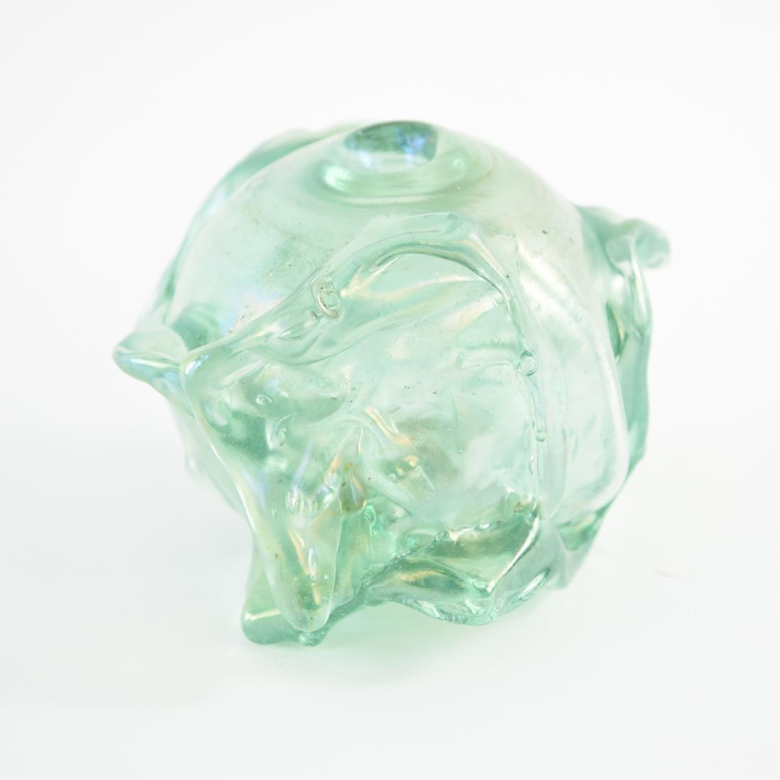 PETER BRAMHALL (1942-) ART GLASS VASE - 3