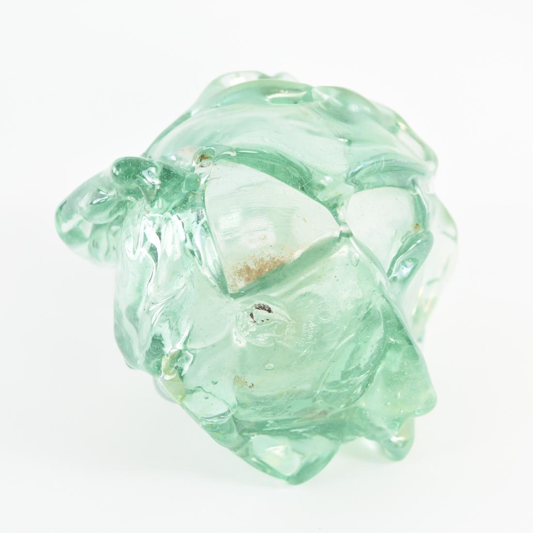 PETER BRAMHALL (1942-) ART GLASS VASE - 6