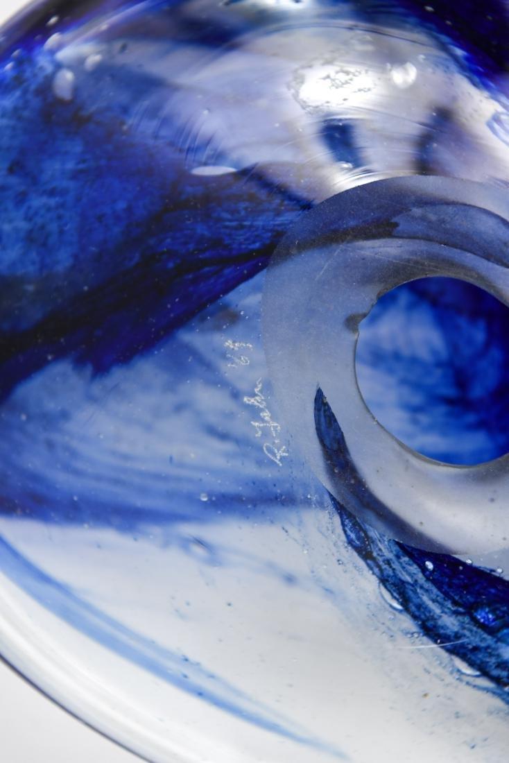 (3) PETER BRAMHALL (1942-) ART GLASS GROUPING - 10