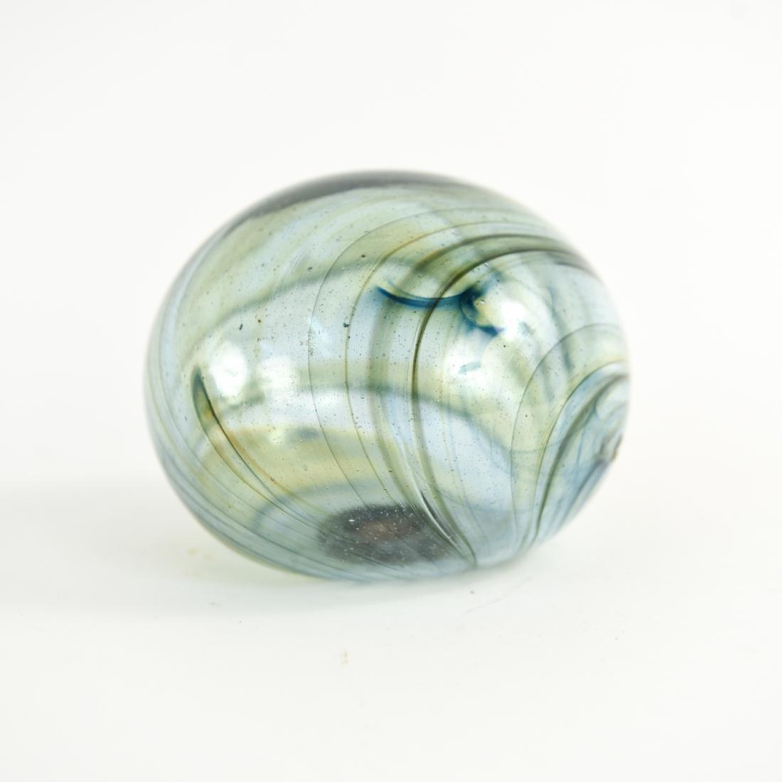 (3) PETER BRAMHALL (1942-) ART GLASS GROUPING - 3