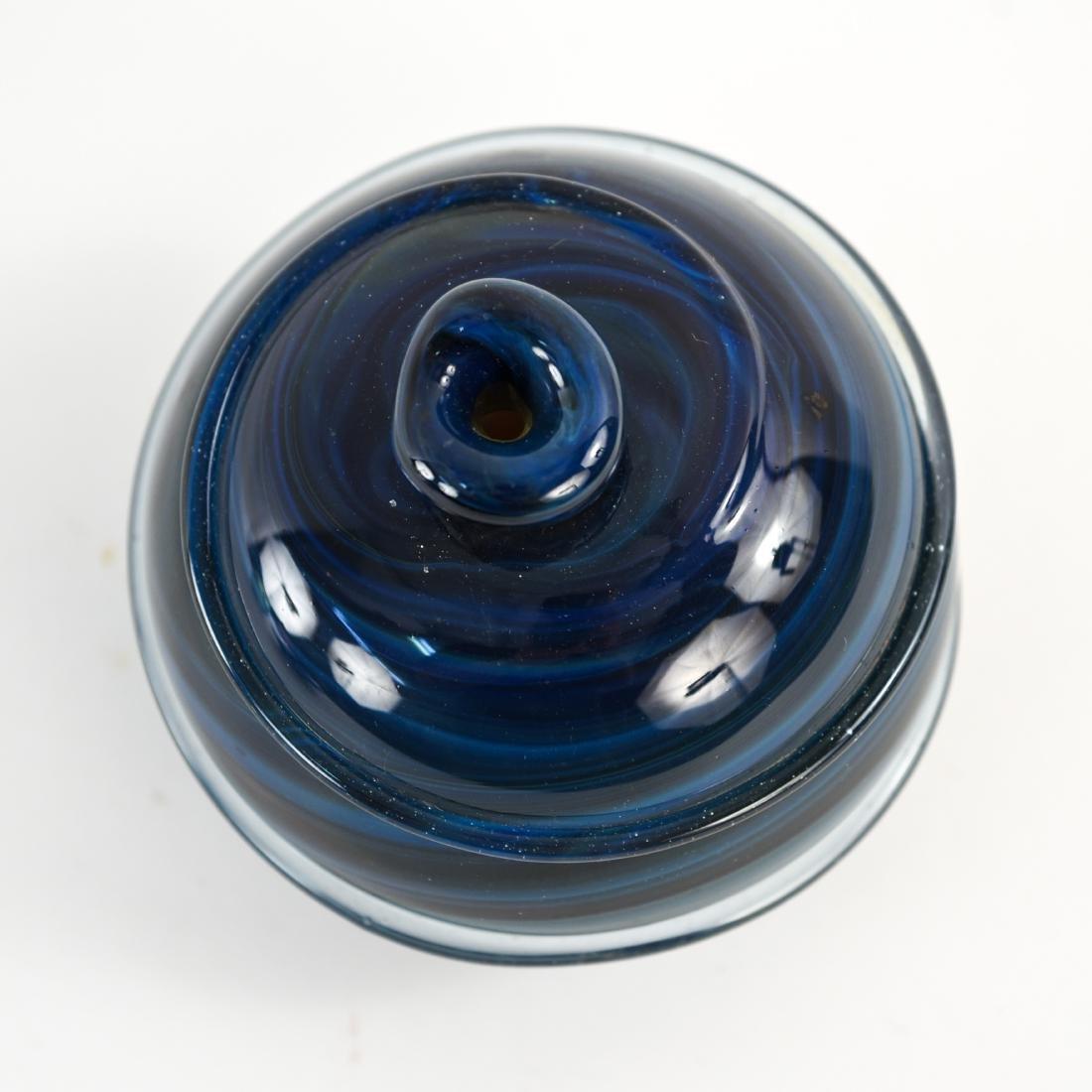 (3) PETER BRAMHALL (1942-) ART GLASS GROUPING - 6