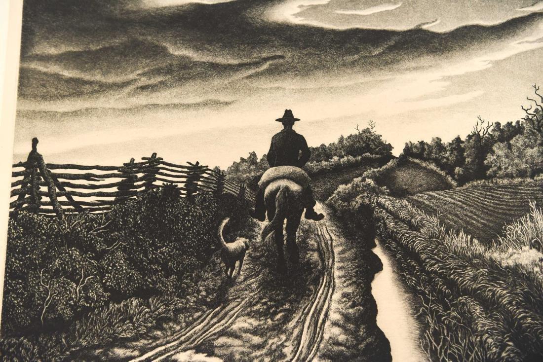 JACKSON LEE NESBIT (AMERICAN 1913-2008) ETCHING - 5