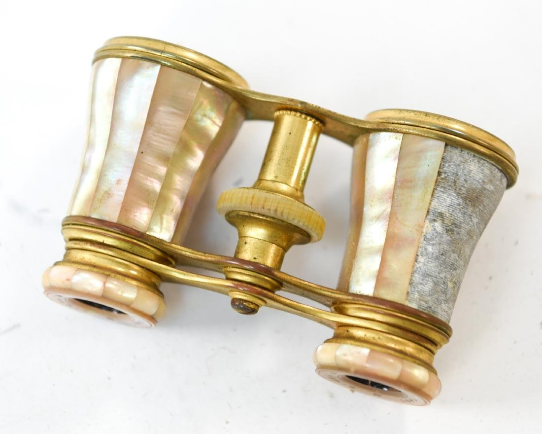 GROUPING OF ANTIQUE OPERA GLASSES - 7