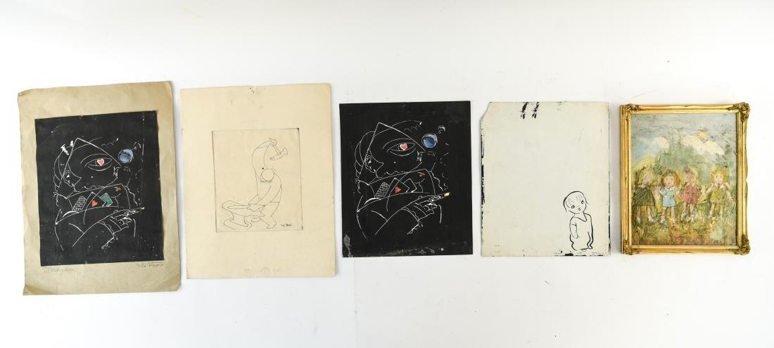 (5) NILS STROM (1903-1971) DANISH ARTIST