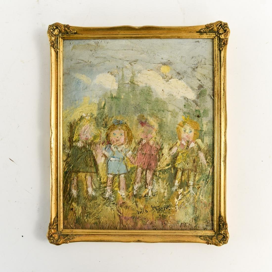 (5) NILS STROM (1903-1971) DANISH ARTIST - 2