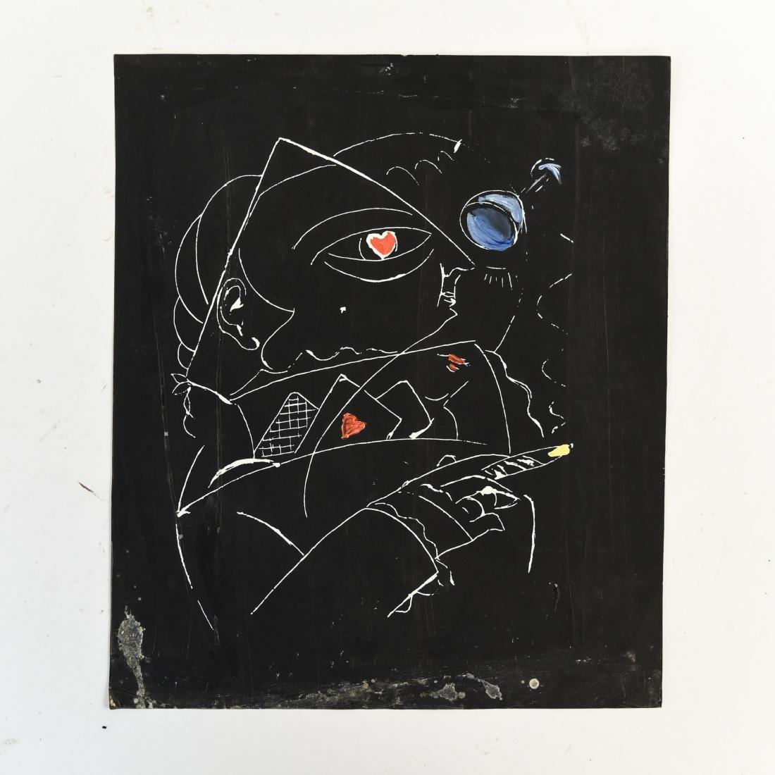 (5) NILS STROM (1903-1971) DANISH ARTIST - 4